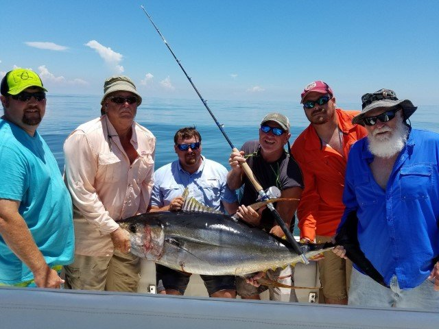 pensacola fishing charters and fishing guide deep sea